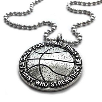 Basketball, I Can Do All Things, Pendant  -
