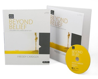 Bible Studies for Life: Beyond Belief: Exploring the Character of God (DVD Leader Kit)  -     By: Freddy Cardoza