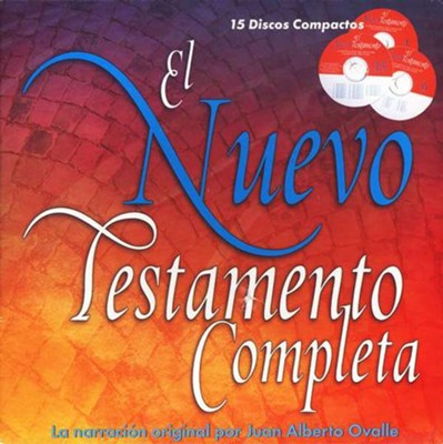 El Nuevo Testamento Completo en Audio, Reina Valera 2000  (RV 2000 Complete New Testament, Audiobook), 15 CDs  -     Narrated By: Juan Alberto Ovalle     By: Ovalle