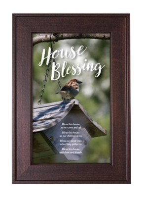 House Blessing Framed Art  -