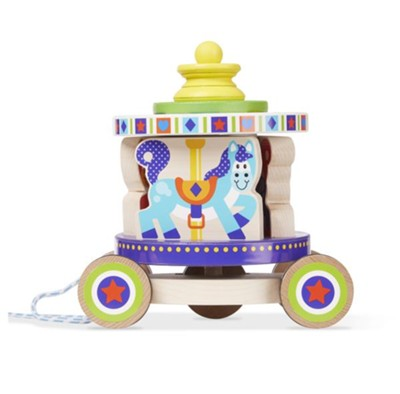 Carousel Pull Toy  -
