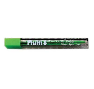 Pentel Refill for 6609 Pen, Green, Pack of 2  -