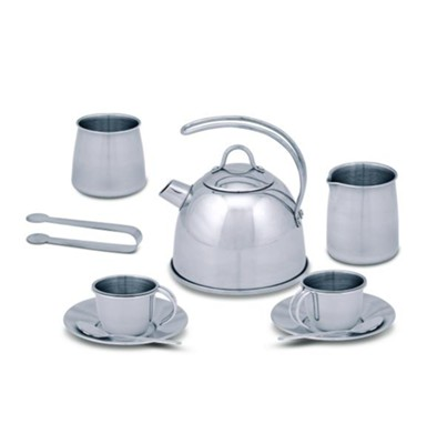 Stainless Steel Tea Set  -