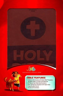 International Children's Bible - Brown Leathersoft Cover  -