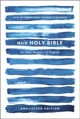 Nirv, Holy Bible for New Readers of English, Anglicised Edition, Paperback, Blue (Special)  -     By: Zondervan Zondervan
