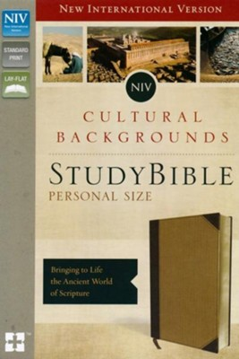 NIV, Cultural Backgrounds Study Bible, Personal Size, Imitation Leather, Tan  -     Edited By: Craig S. Keener, John H. Walton