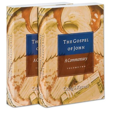 The Gospel of John, 2 Volumes   -     By: Craig S. Keener