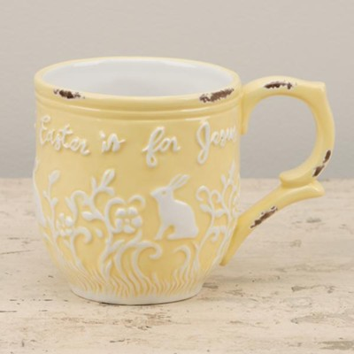 Easter Is For Jesus, Yellow, Mug  -