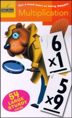 Multiplication Flash Cards  -