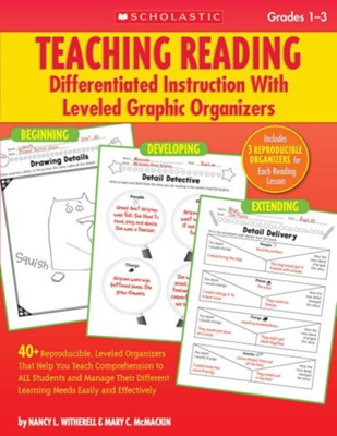 Teaching Reading Differentiated Instruction With Leveled Graphic