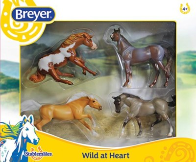 Stablemates, Wild at Heart, Set of 4  -