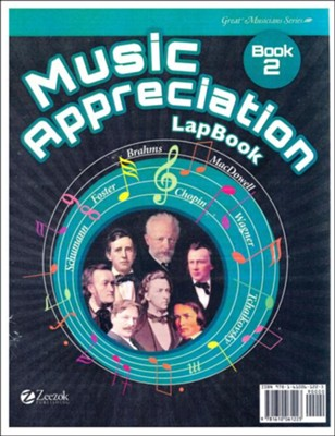 Music Appreciation: Book 2 for Middle Grades, Lapbook CD-ROM  -