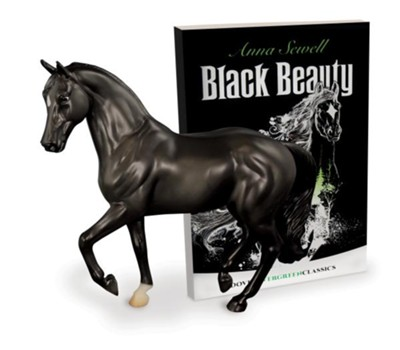 Black Beauty Horse and Book Set  -