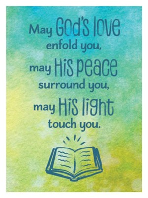 May God's Love Enfold You Magnet  -