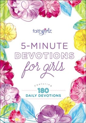 5-Minute Devotions for Girls  -