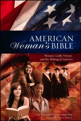 NKJV American Woman's Bible--Imitation leather, brown   -     Edited By: Richard Lee     By: Dr. Richard G. Lee