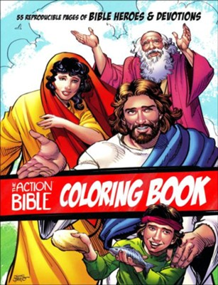 Action Bible Coloring Book  -