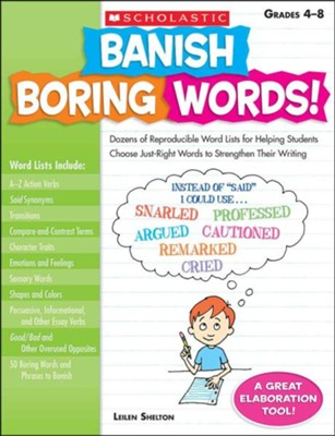 Banish Boring Words!  -     By: Leilen Shelton
