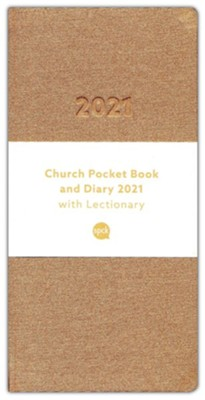 2021 Church Pocket Book and Diary, Bronze  -
