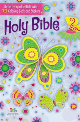 ICB, The Butterfly Sparkle Bible, Hardcover  -
