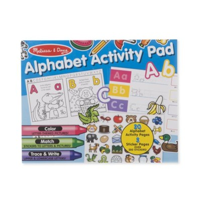 Alphabet Activity Pad  -