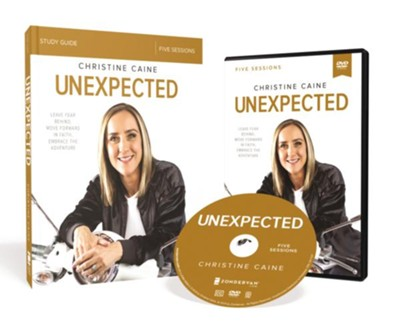 Unexpected Study Guide with DVD  -     By: Christine Caine