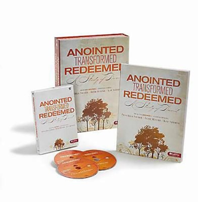 Anointed, Transformed, Redeemed: A Study of David-DVD Leader Kit  -     By: Beth Moore, Kay Arthur, Priscilla Shirer