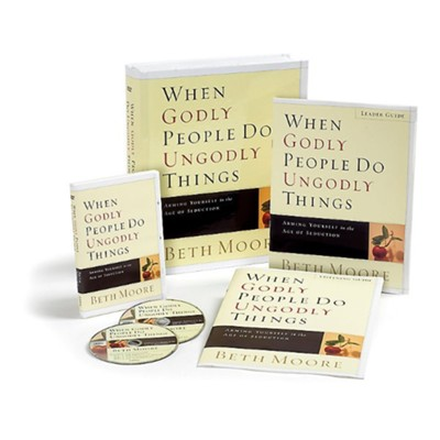 When Godly People Do Ungodly Things--Leader DVD Kit   -     By: Beth Moore
