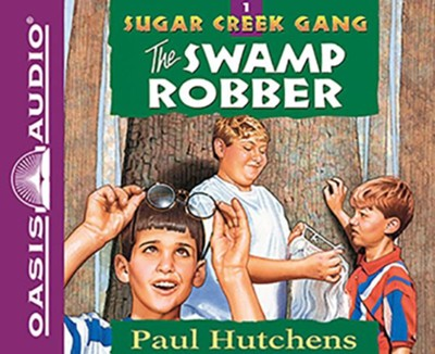 The Swamp Robber Unabridged Audiobook On Mp3 Cd Paul Hutchens