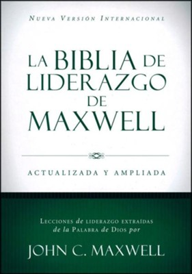 Biblia de Liderazgo de Maxwell NVI, Piel Marrón  (NVI Maxwell Leadership Bible, Brown Leather)  -     By: John C. Maxwell