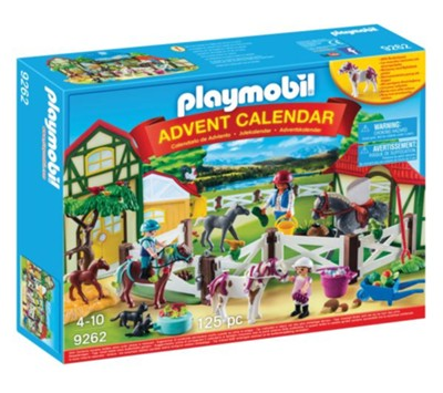 Advent Calendar, Horse Farm  -