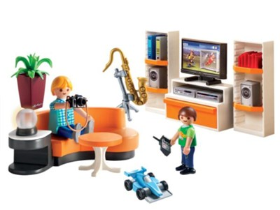 Playmobil Modern House Living Room Accessories