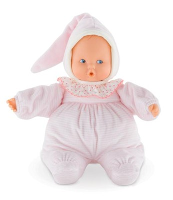 Babipouce Baby Doll, Striped, Pink  -