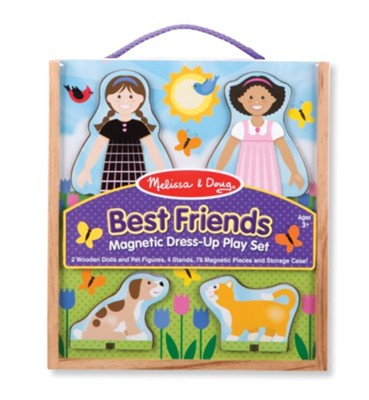 Best Friends Magnetic Dress Up Play Set  -