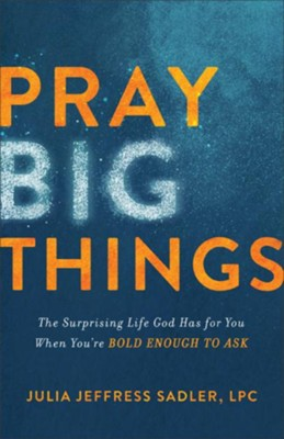 Pray Big Things: The Surprising Life God Has for You When You're Bold Enough to Ask  -     By: Julia Jeffress Sadler LPC