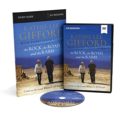 The Rock, the Road, and the Rabbi Study Guide with DVD  -     By: Kathie Lee Gifford