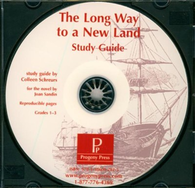Long Way to a New Land Study Guide on CDROM  -