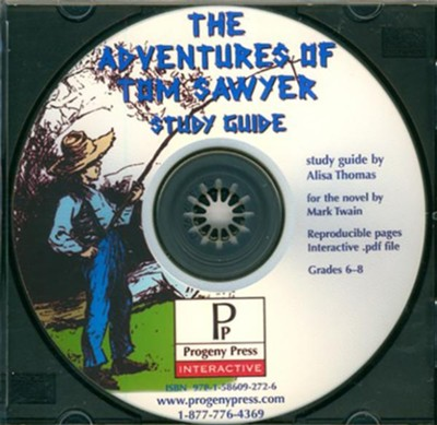 Adventures of Tom Sawyer Study Guide on CDROM  -