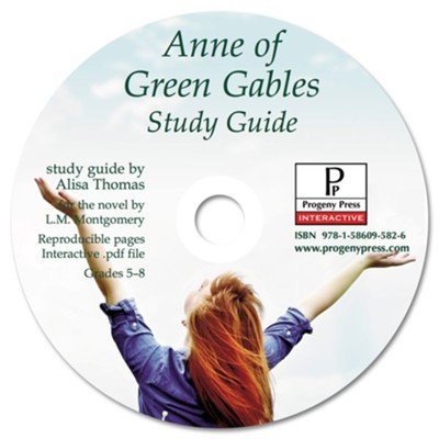 Anne of Green Gables Study Guide on CDROM  -