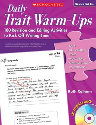 Daily Trait Warm-Ups  -     By: Ruth Culham