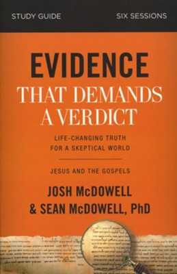 Evidence That Demands a Verdict Study Guide  -     By: Josh Mcdowell, Sean Mcdowell