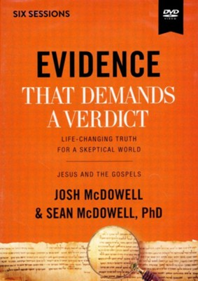 Evidence That Demands a Verdict Video Study: Life-Changing Truth for a Skeptical World  -     By: Josh McDowell, Sean McDowell