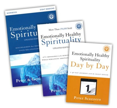 Emotionally Healthy Spirituality Course, Participant's Pack (Updated Edition)   -     By: Peter Scazzero, Geri Scazzero