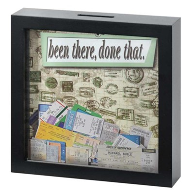 Been There, Done That Keepsake Box  -