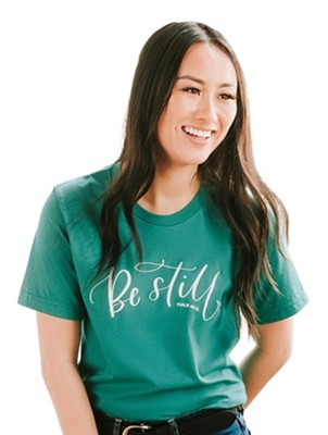 Be Still Shirt, Green, X-Large  -