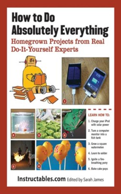 How to Do Absolutely Everything: Homegrown Projects from Real Do-It-Yourself Experts - eBook  -     By: Sarah James