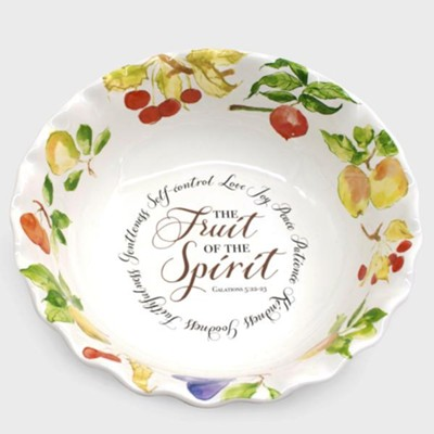 Fruit of the Spirit, Serving Bowl   -