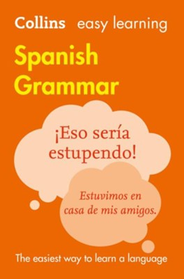 Easy Learning Spanish Grammar - eBook  -