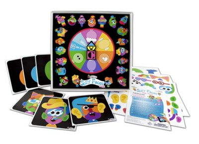 Colorforms Silly Faces Game  -