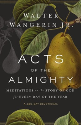 Acts of the Almighty: Meditations on the Story of God for Every Day of the Year - eBook  -     By: Walter Wangerin Jr.